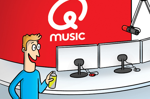 Q-music illustratie