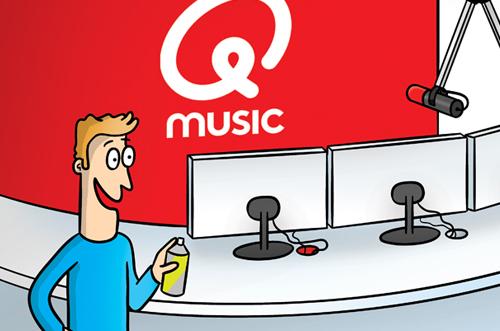 Q-music illustratie